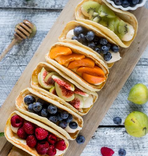 Palatacos s voćem