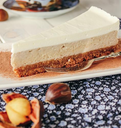 Cheesecake s kestenom