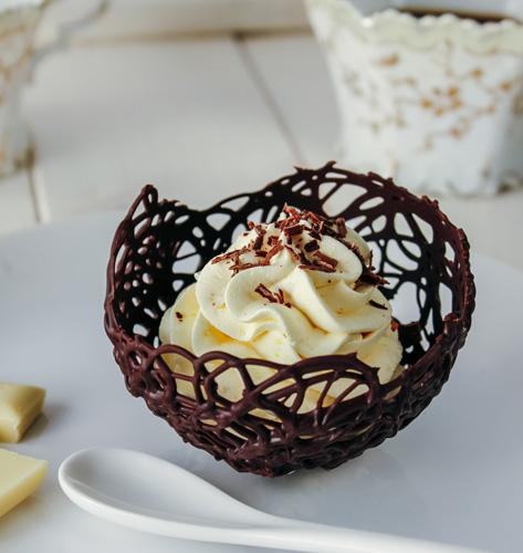 Mousse s bijelom čokoladom
