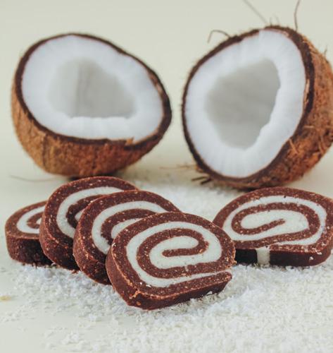 Salama s kokosom