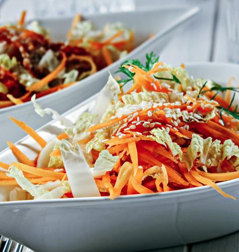 Salata s kineskim kupusom