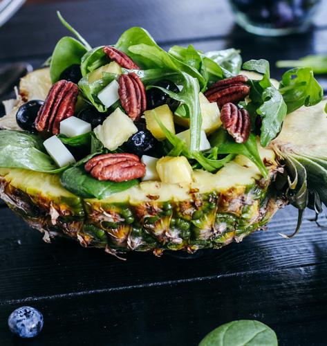 Salata s pekan orasima