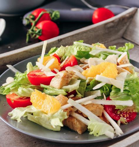 Salata s piletinom i narančom