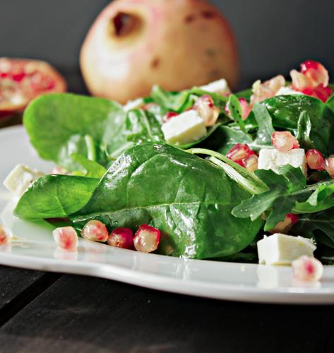 Salata sa špinatom i narom