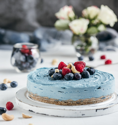 Sirova torta sa spirulinom