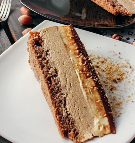 Torta s lješnjak karamelama
