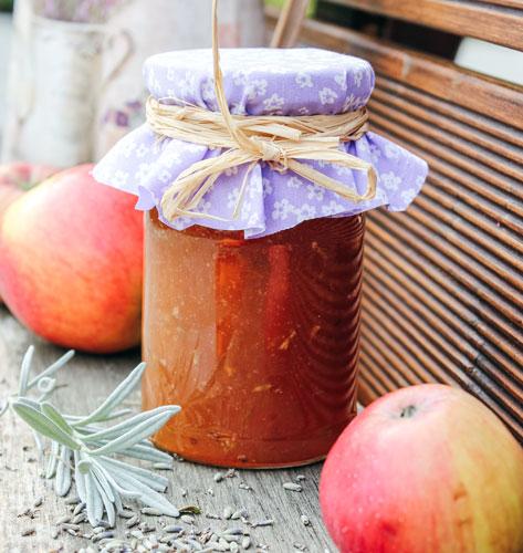 Marmelada od jabuka s lavandom