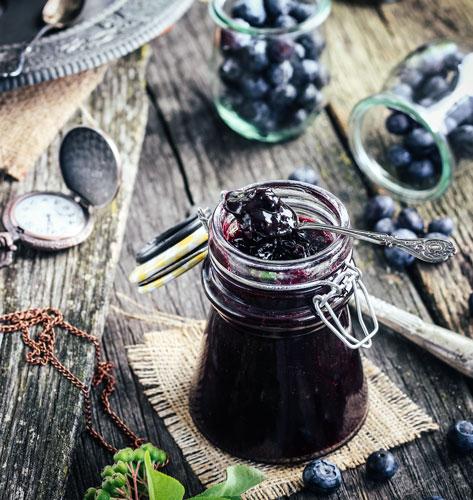 Džem od borovnice i aronije iz pekača