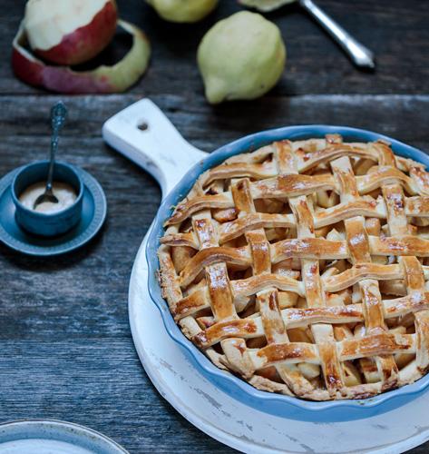 Pita s dunjama i jabukama
