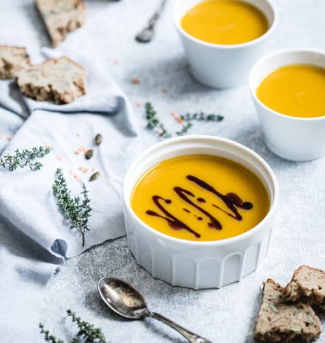 Krem juha od bundeve i crvene leće