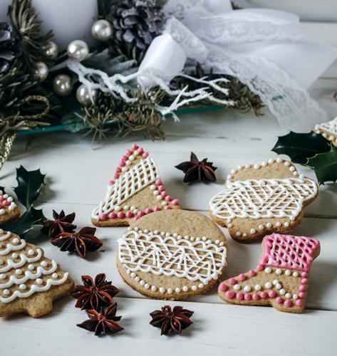 Šareni božićni keksi